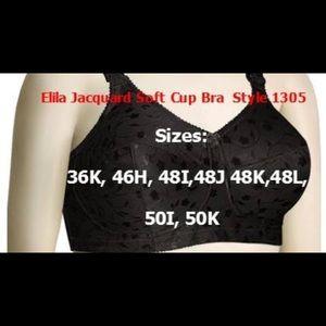 Different size Brand New Elila Jacquard bras